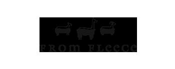 from fleece